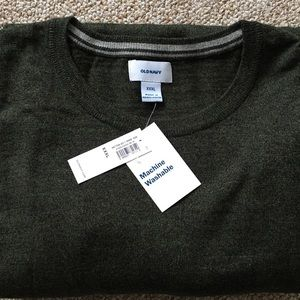 OLD NAVY Men's Sweater Forrest Green Size 3XL
